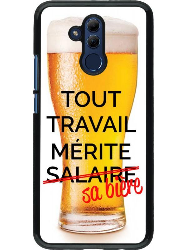 Coque Huawei Mate 20 Lite - Tout travail mérite sa bière