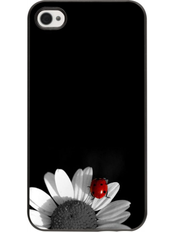 Coque iPhone 4/4s - Black and white Cox
