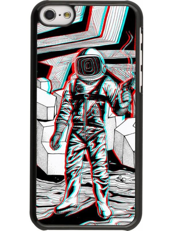 Coque iPhone 5c - Anaglyph Astronaut