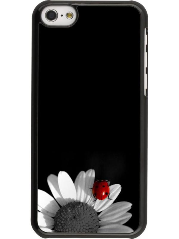 Coque iPhone 5c - Black and white Cox