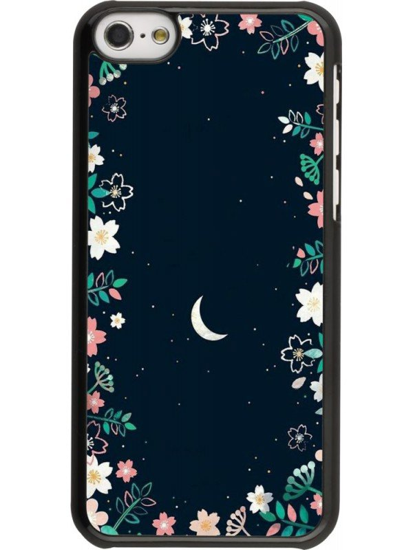 Coque iPhone 5c - Flowers space
