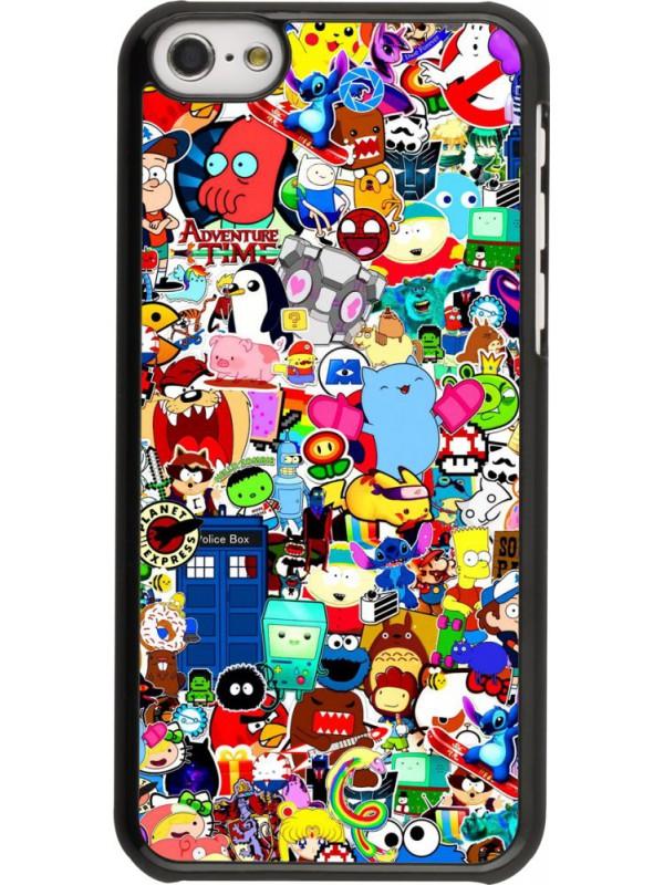 Coque iPhone 5c - Mixed cartoons