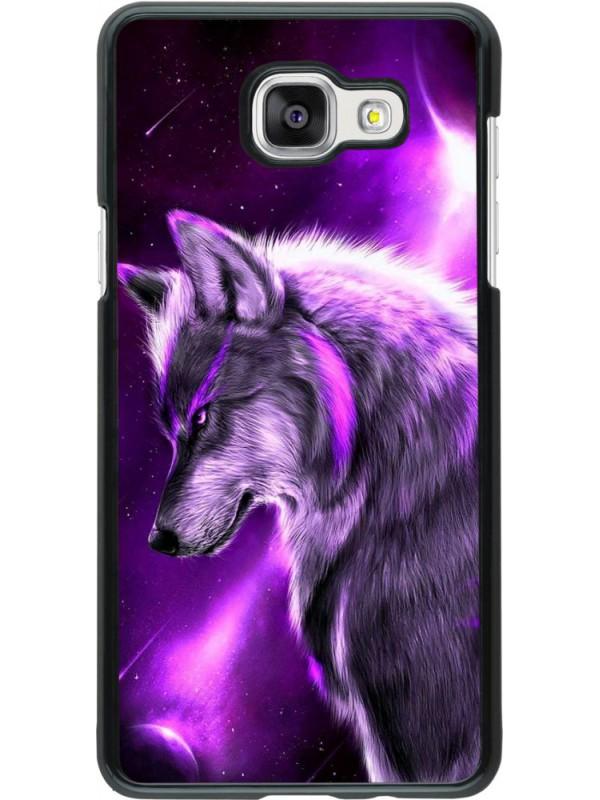 Coque Samsung Galaxy A5 (2016) - Purple Sky Wolf