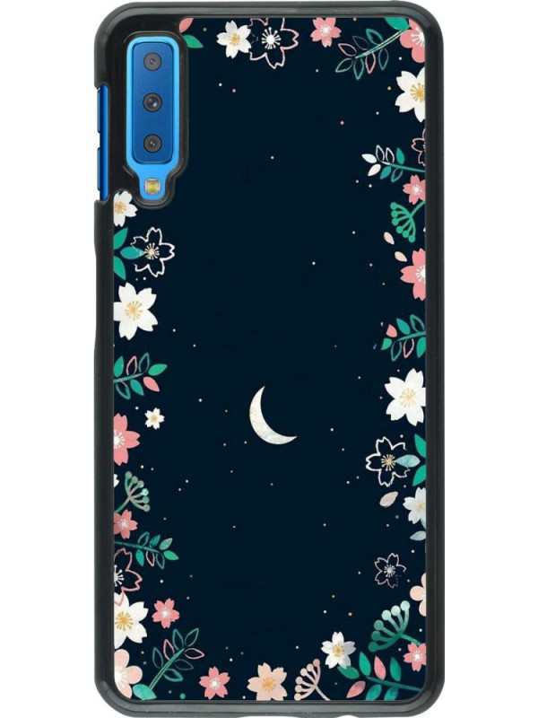 Coque Samsung Galaxy A7 - Flowers space