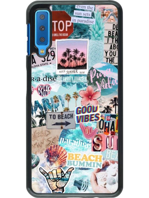 Coque Samsung Galaxy A7 - Summer 20 collage