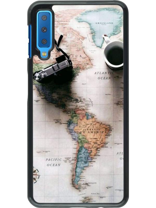Coque Samsung Galaxy A7 - Travel 01