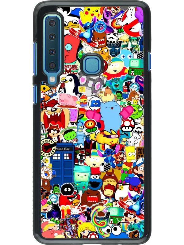 Coque Samsung Galaxy A9 - Mixed cartoons