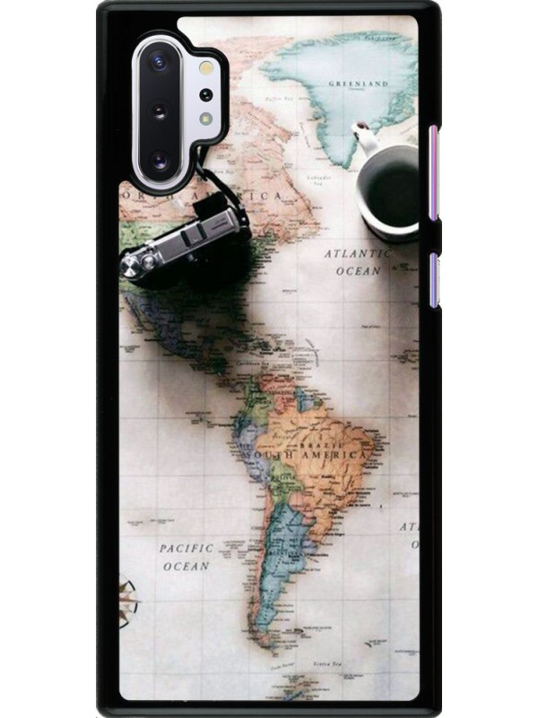 Coque Samsung Galaxy Note 10+ - Travel 01