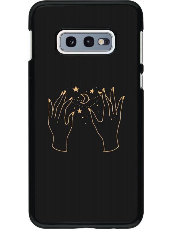 Coque Samsung Galaxy S10e - Grey magic hands