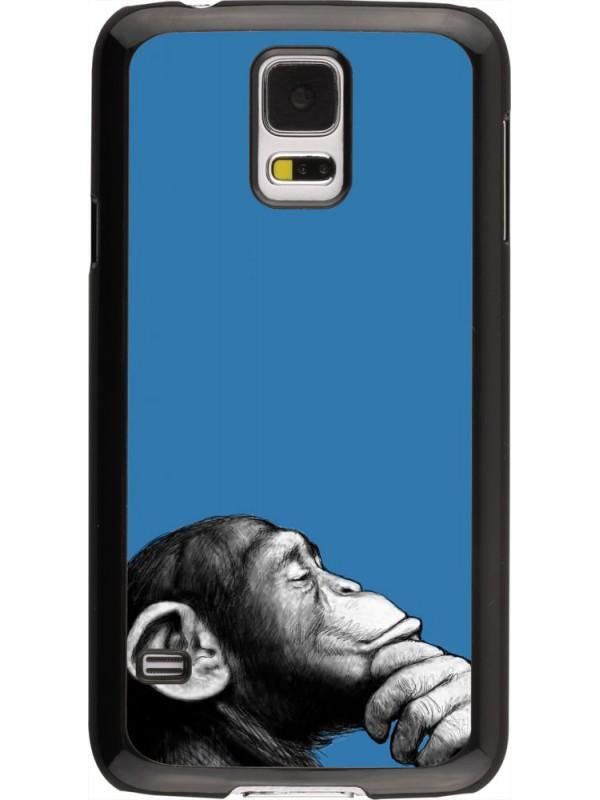 Coque Samsung Galaxy S5 - Monkey Pop Art