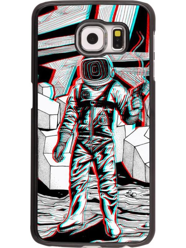 Coque Samsung Galaxy S6 edge - Anaglyph Astronaut