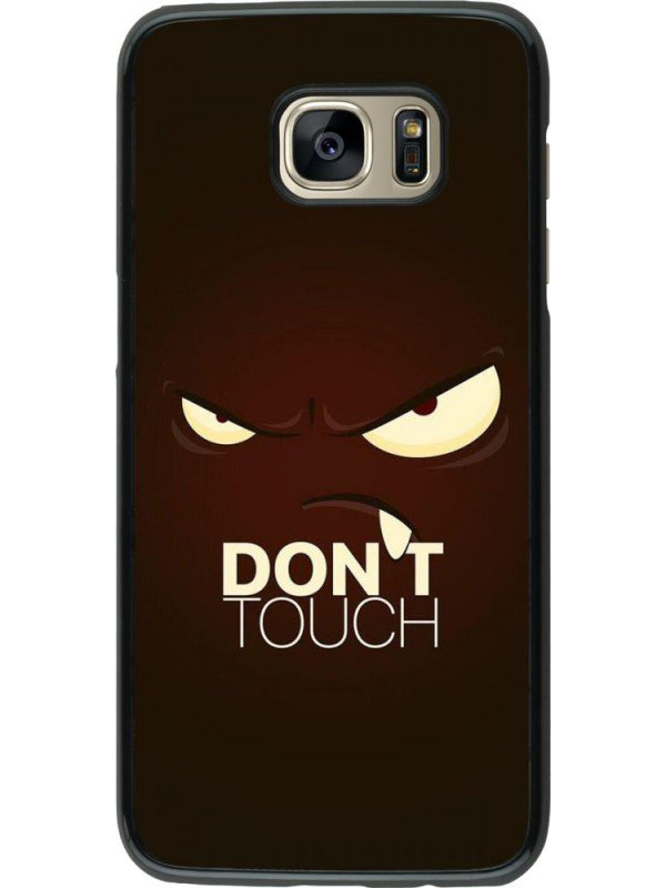 Coque Samsung Galaxy S7 edge - Angry Dont Touch