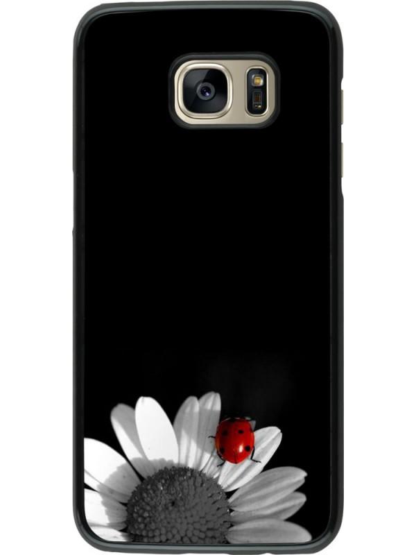 Coque Samsung Galaxy S7 edge - Black and white Cox