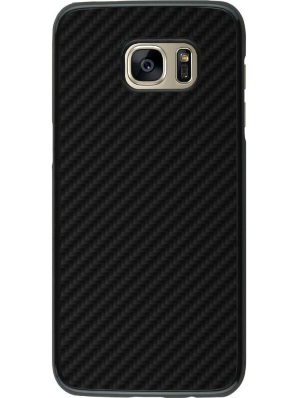 Coque Samsung Galaxy S7 edge - Carbon Basic