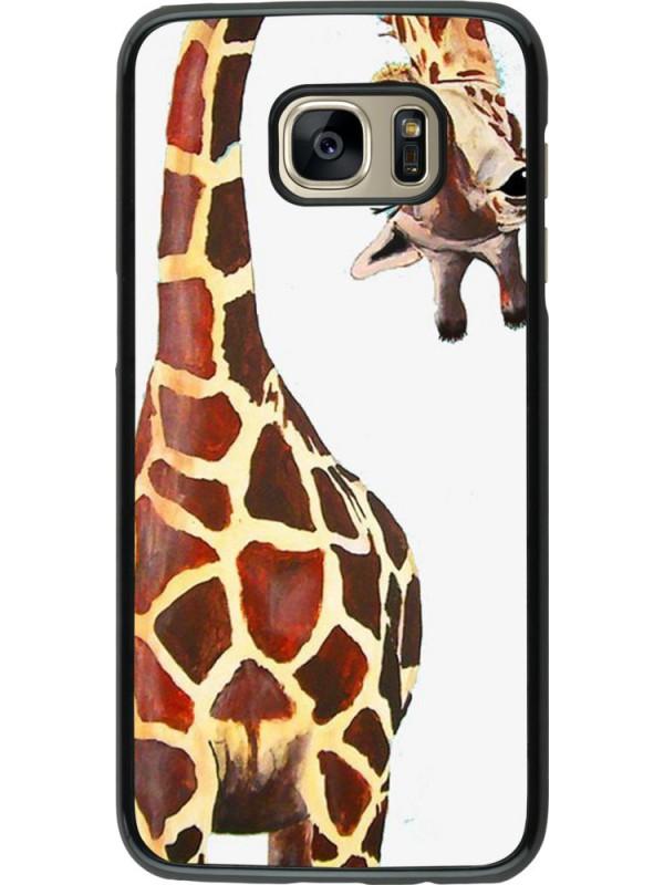 Coque Samsung Galaxy S7 edge - Giraffe Fit