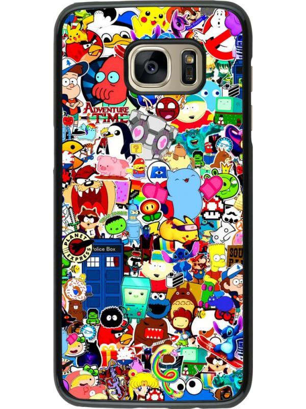 Coque Samsung Galaxy S7 edge - Mixed cartoons