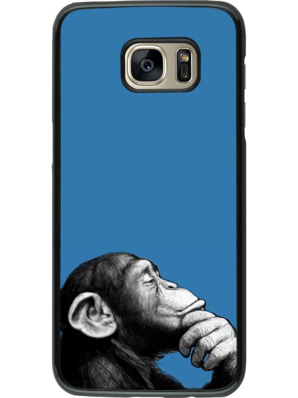 Coque Samsung Galaxy S7 edge - Monkey Pop Art