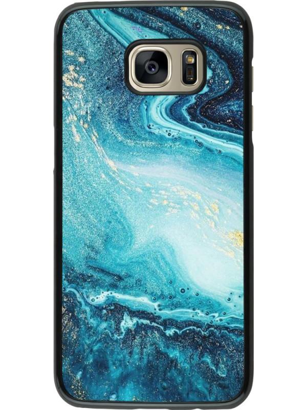 Coque Samsung Galaxy S7 edge - Sea Foam Blue