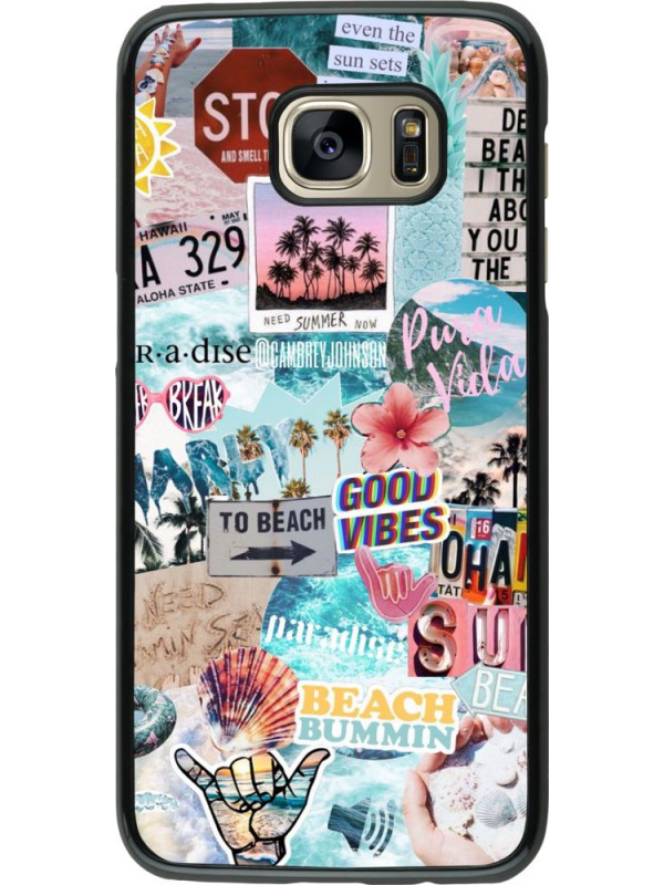 Coque Samsung Galaxy S7 edge - Summer 20 collage