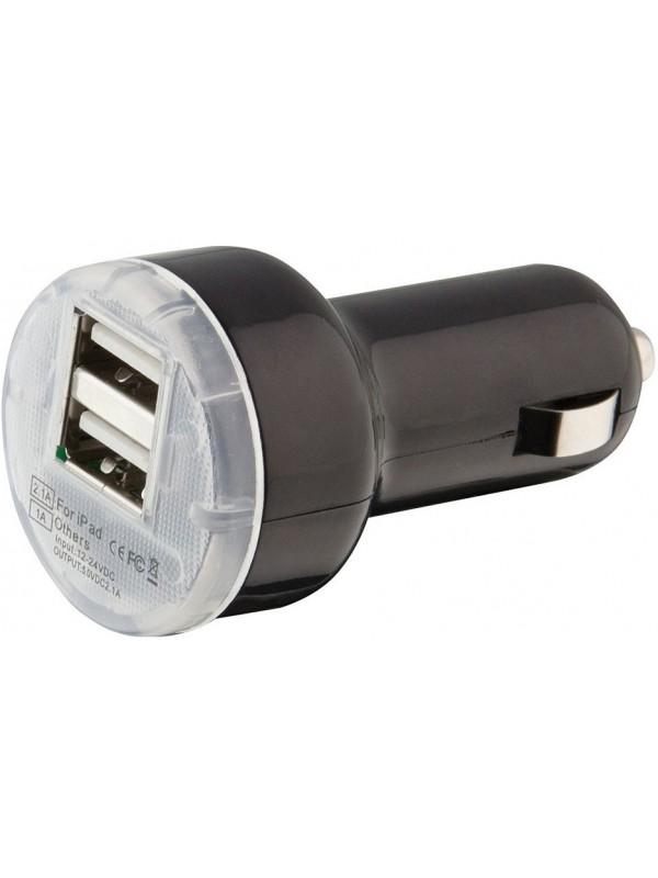 Adaptateur double USB allume-cigare