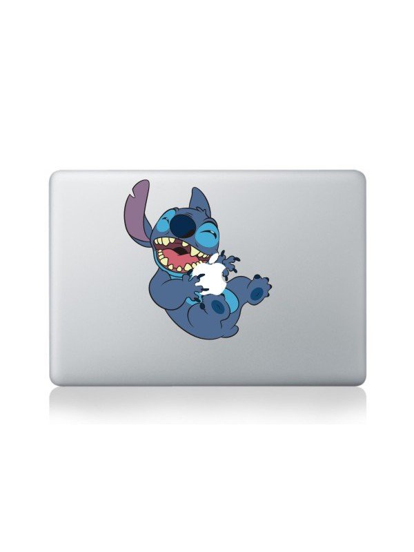 "Autocollant MacBook 13"" -  Happy Monster"