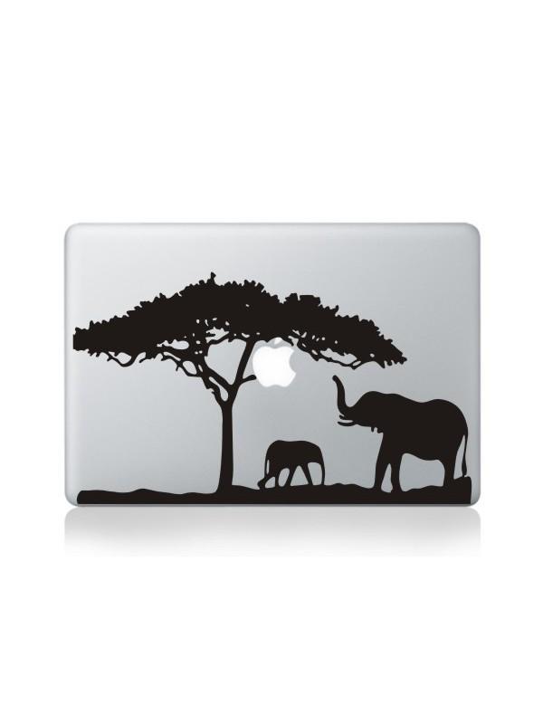 """Autocollant MacBook 13"""" -  Savanna View"""