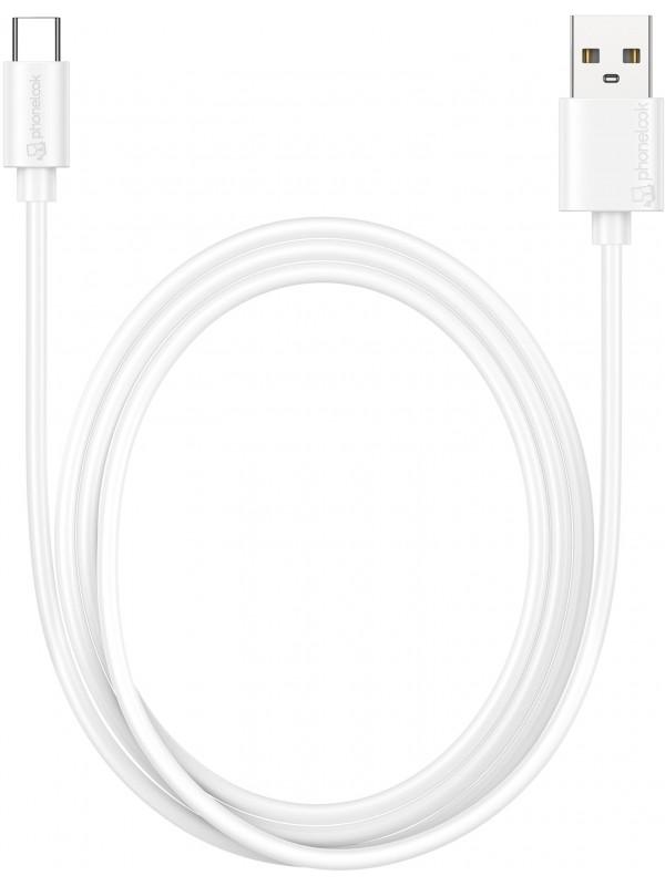 Câble USB Type-C (1 m) - PhoneLook blanc
