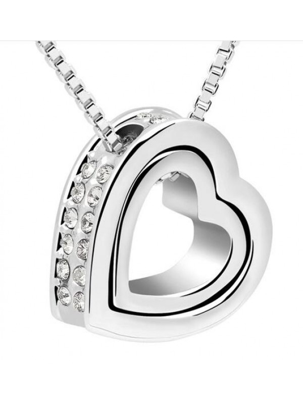 Collier Double Heart