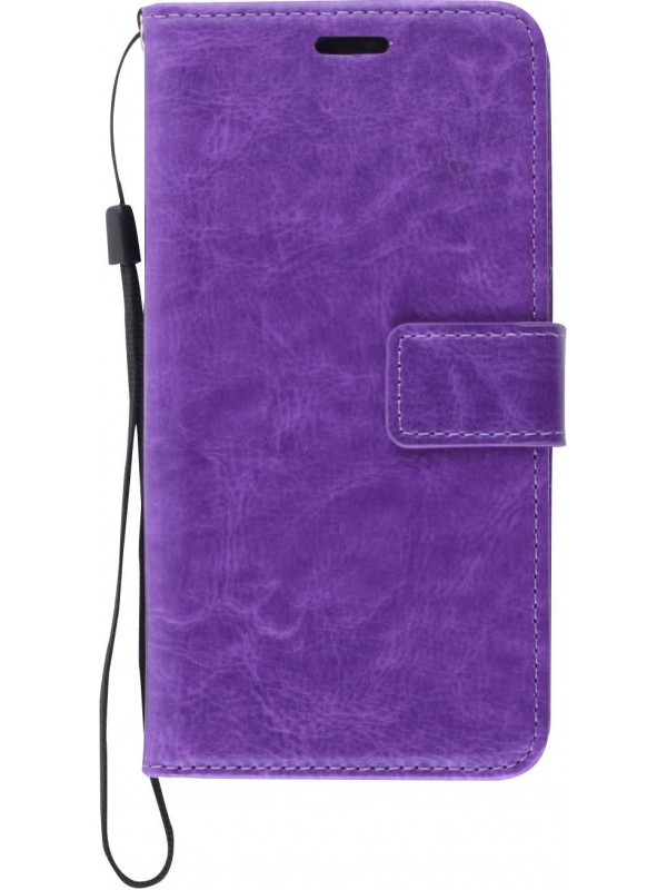 Coque Samsung Galaxy S20 - Premium Flip violet