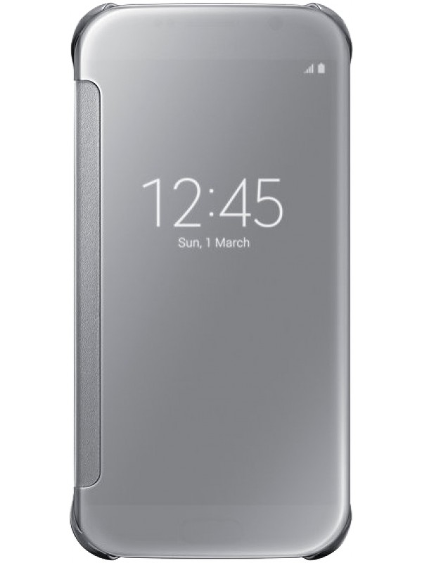 Coque Samsung Galaxy S9+ - Clear View Cover argent