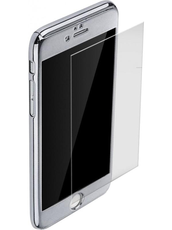 Coque iphone 7 8 360 full body mirror argent for Coque iphone 7 miroir
