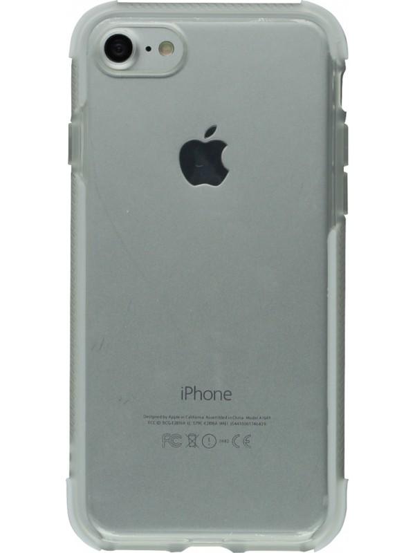 Coque iPhone 5/5s/SE - Bumper Stripes blanc