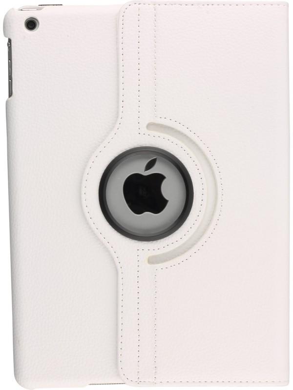 """Etui cuir iPad Pro 10.5"""" - Premium Flip 360 blanc"""