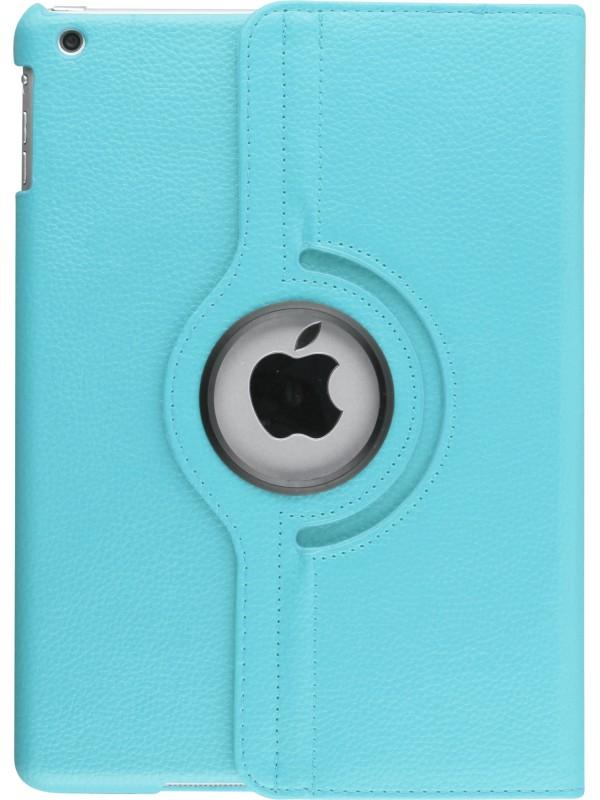 """Etui cuir iPad Pro 10.5"""" - Premium Flip 360 bleu clair"""