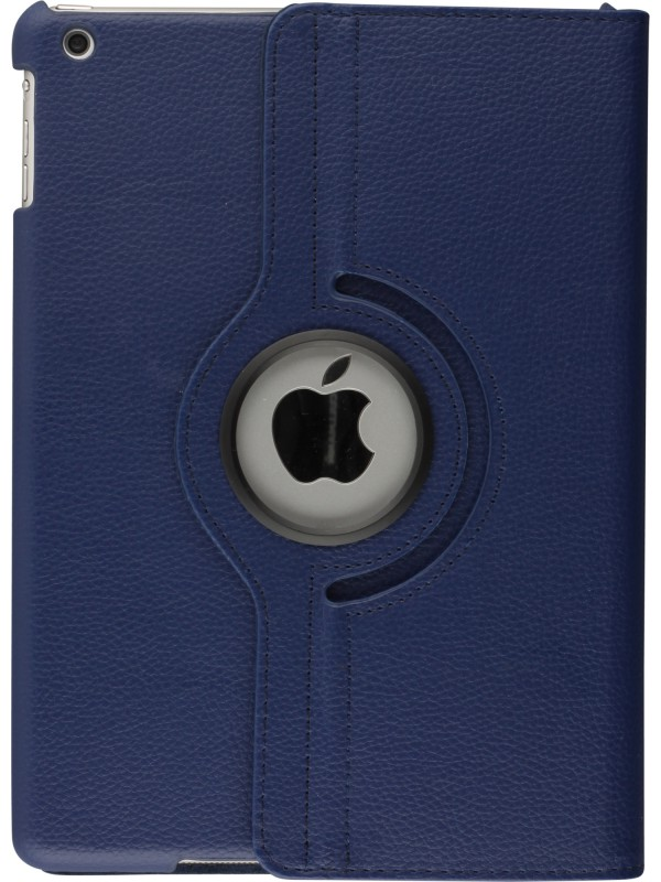 "Etui cuir iPad Pro 10.5"" - Premium Flip 360 bleu foncé"