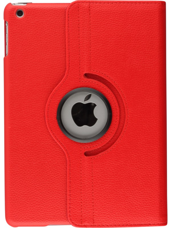Etui cuir iPad 2/3/4 - Premium Flip 360 rouge