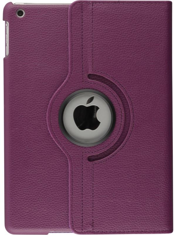 """Etui cuir iPad Pro 10.5"""" - Premium Flip 360 violet"""