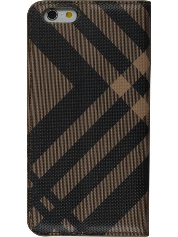 Fourre Samsung Galaxy S8+ - Flip Lines brun