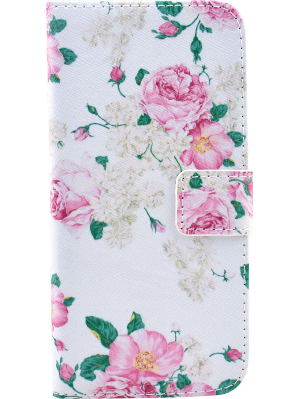 Fourre Samsung Galaxy S6 edge - Flip Flower vintage rose
