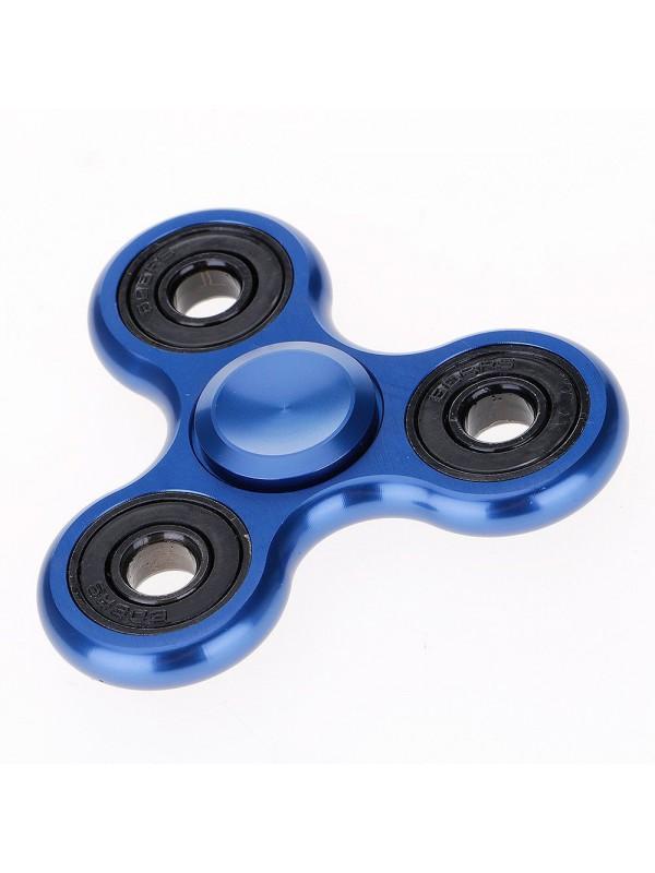 Hand Spinner Aluminium bleu