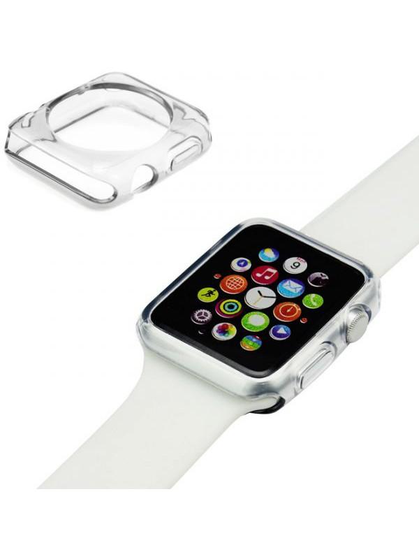 Housse Apple Watch 42mm - Gel transparent