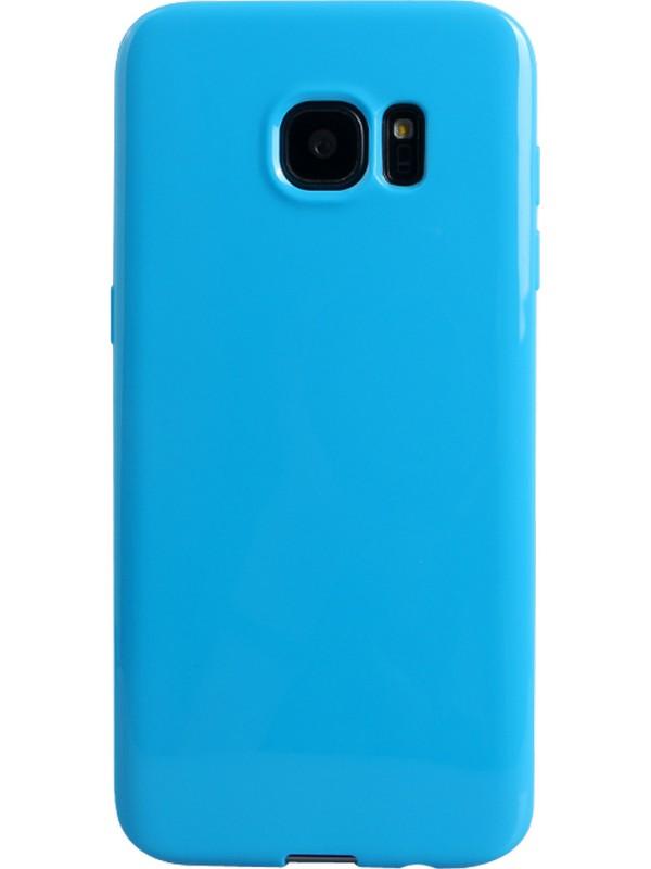 Housse Samsung Galaxy S7 edge - Gel bleu