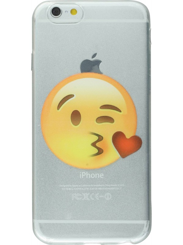 Housse iPhone 6/6s - Emoji Kiss