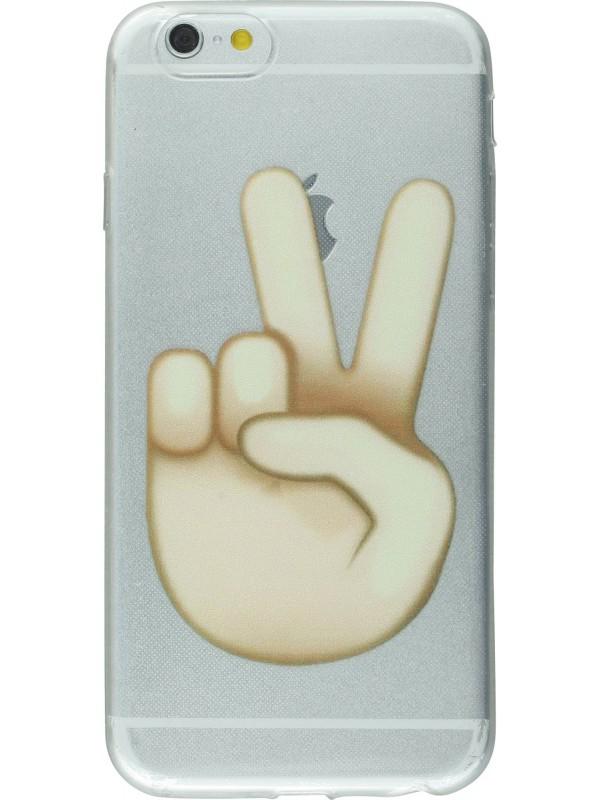 Housse iPhone 6/6s - Emoji Victory