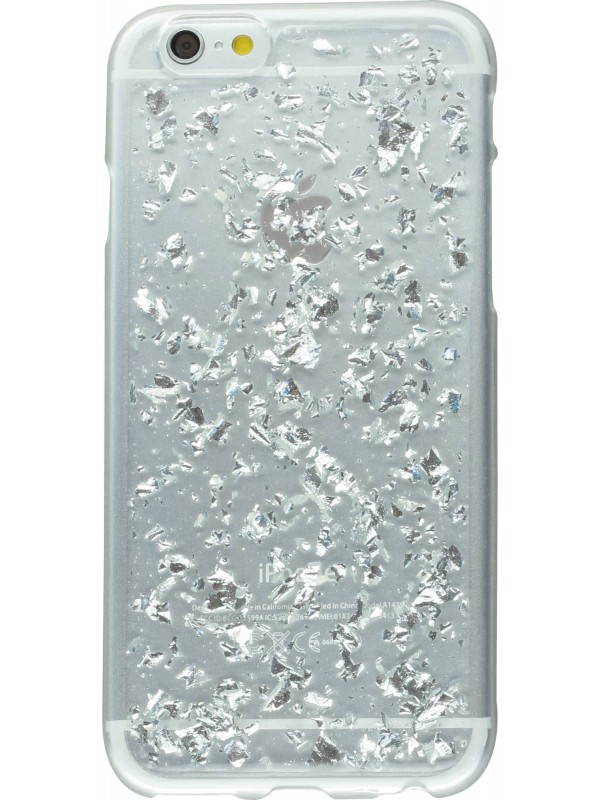 Housse Samsung Galaxy Note 4 - Precious Fragment argent