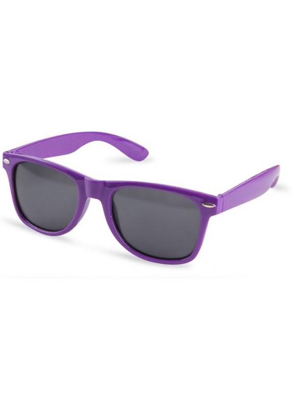 Lunettes style Wayfarer violet