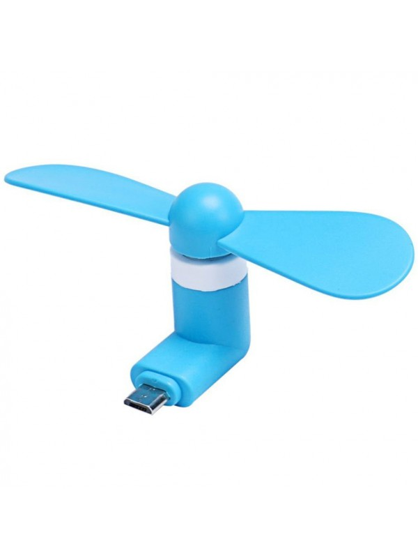 Mini Ventilateur iPhone Lightning bleu